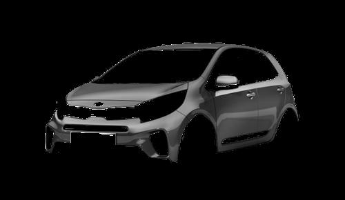 Цвета кузова Picanto X-Line